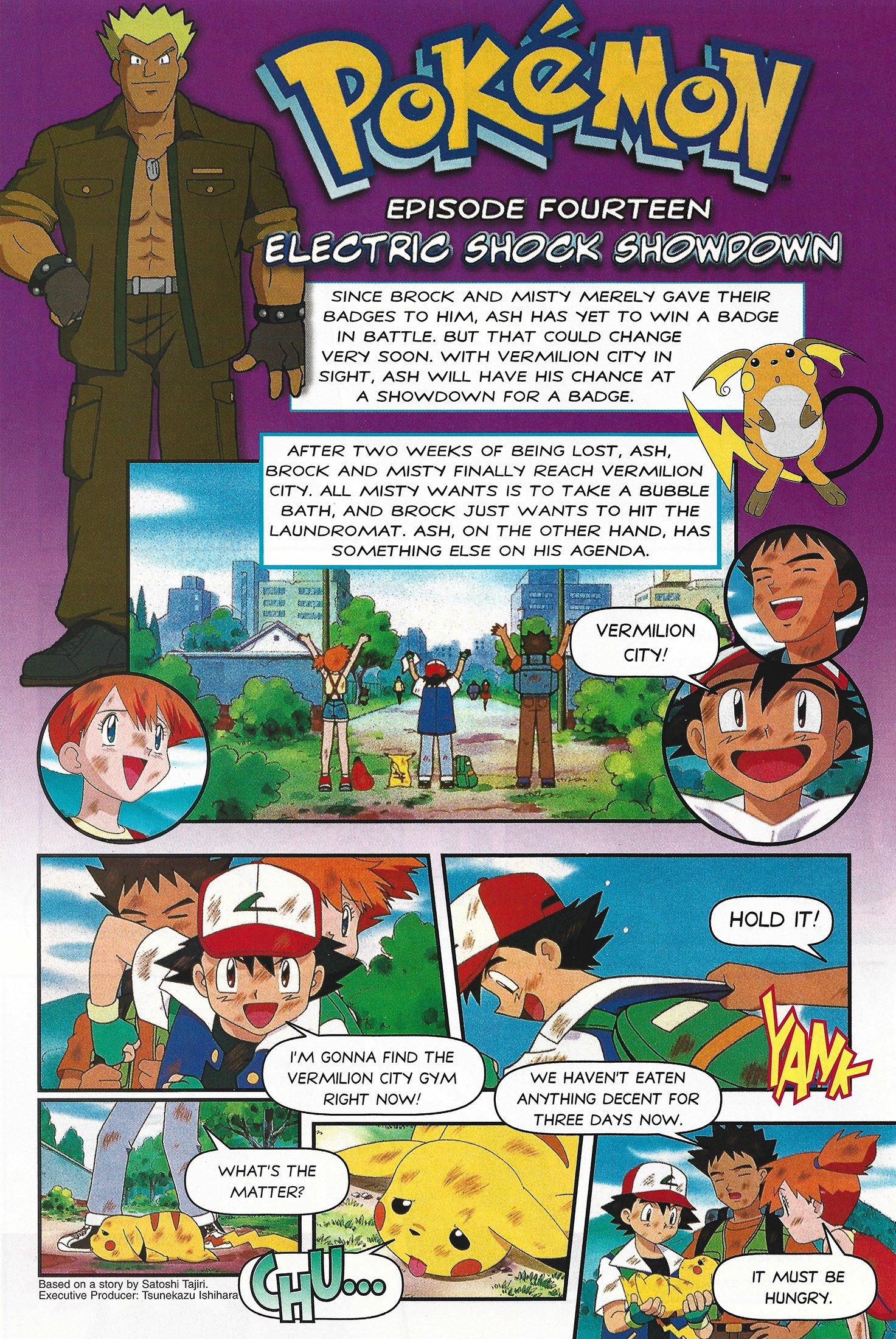 Pokemon Ep.14 - Electric Shock Showdown