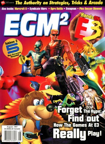 EGM2 Issue 38 (August 1997)