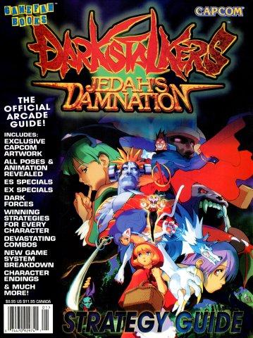 GameFan Books Darkstalkers - Jedah's Damnation Strategy Guide