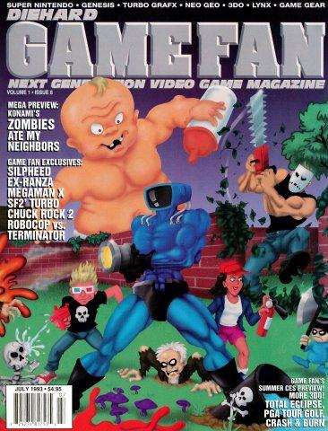 Diehard Gamefan Issue 08 July 1993 (Volume 1 Issue 8)