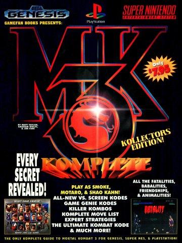 Mortal Kombat 3 Komplete (Kollectors Edition)