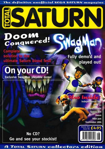 Total Saturn Issue 6 (March 1997)