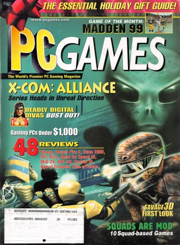 PC Games Vol. 05 No. 10 (December 1998)