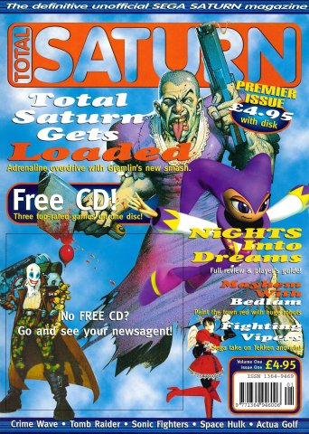 Total Saturn Issue 1 (October 1996)