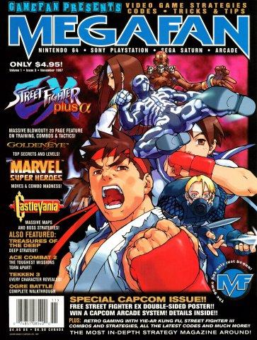 Megafan Volume 1 Issue 03 (November 1997)