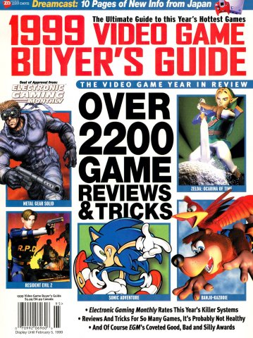 1999 Video Game Buyer's Guide