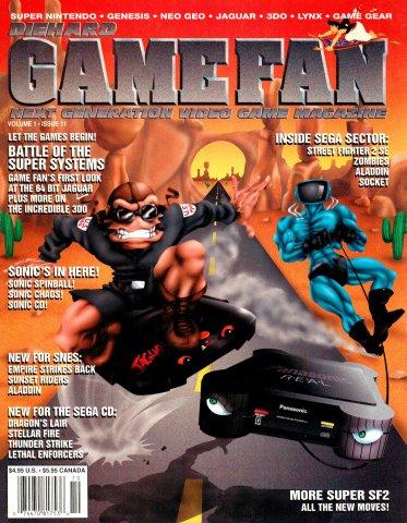 DieHard GameFan Issue 11 (October 1993) (Volume 1 Issue 11)