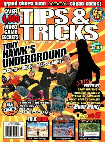 Tips & Tricks Issue 107 January 2004
