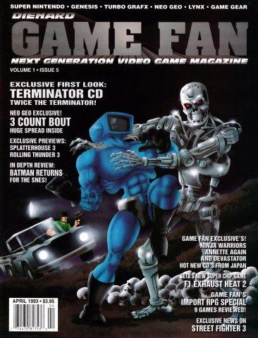 Diehard GameFan Issue 05 April 1993 (Volume 1 Issue 5)