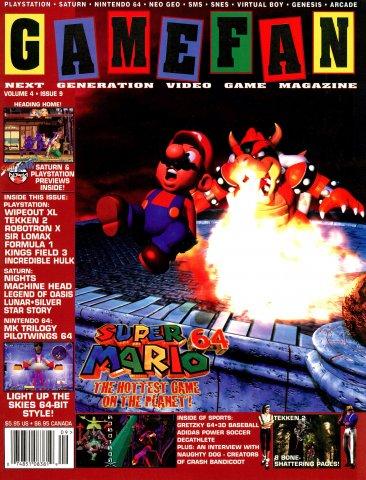 Gamefan Issue 45 September 1996 (Volume 4 Issue 9)