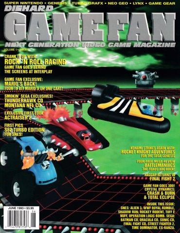 Diehard GameFan Issue 07 June 1993 (Volume 1 Issue 7)