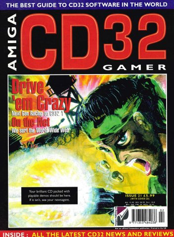 Amiga CD 32 Gamer Issue 21 February 1996