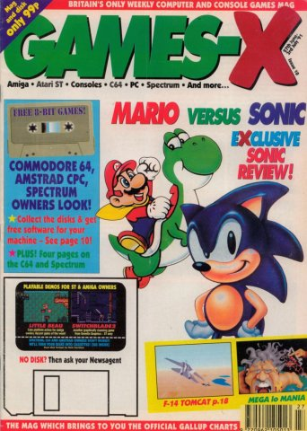 Games-X Issue 10 (June 27, 1991)