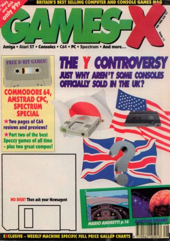 Games-X Issue 11 (July 4, 1991)
