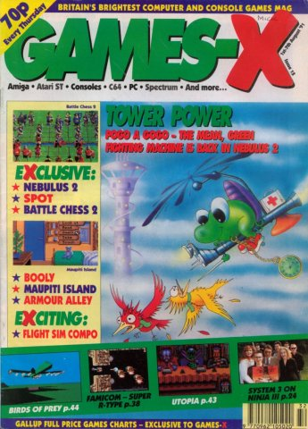 Games-X Issue 15 (August 1, 1991)