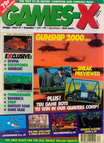 Games-X Issue 17 (August 15, 1991)