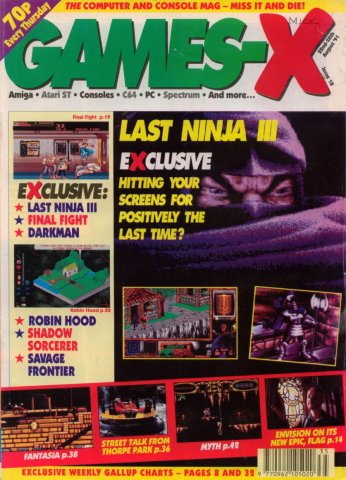 Games-X Issue 18 (August 22, 1991)