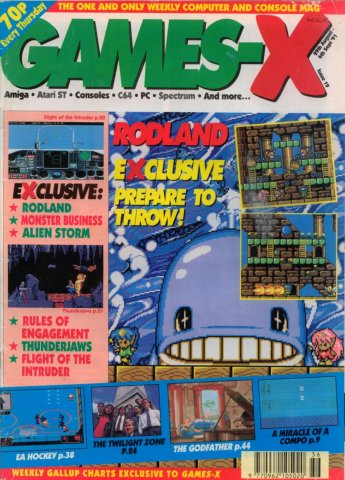 Games-X Issue 19 (August 29, 1991)