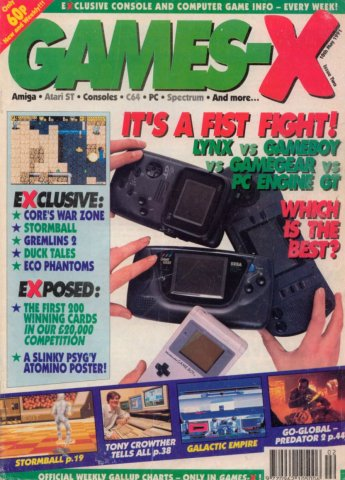 Games-X Issue 02 (May 10, 1991)