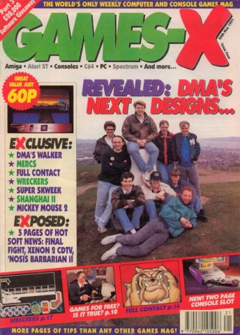 Games-X Issue 04 (May 24, 1991)