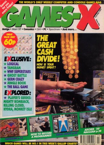 Games-X Issue 05 (May 31, 1991)