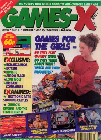 Games-X Issue 06 (June 6, 1991)