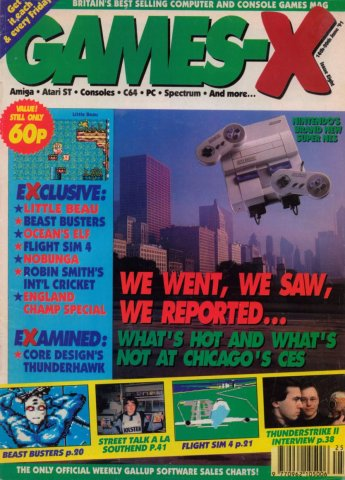 Games-X Issue 08 (June 14, 1991)