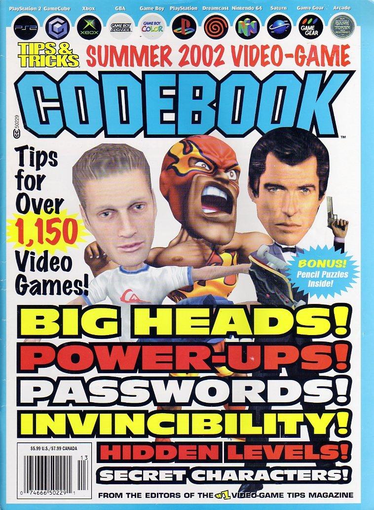 Tips & Tricks Summer 2002 Video Game Codebook