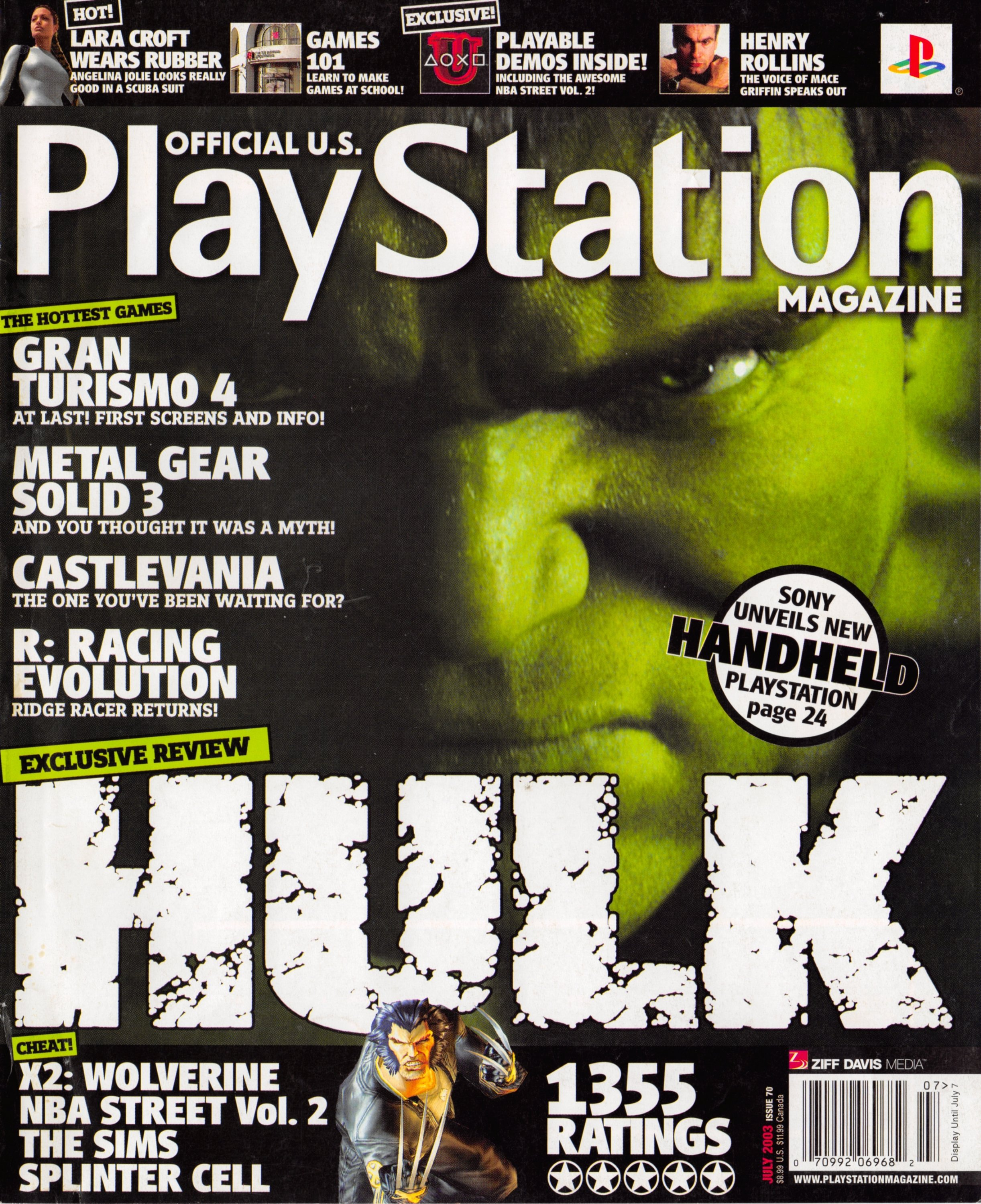 Official U.S. Playstation Magazine Issue 070 (July 2003)