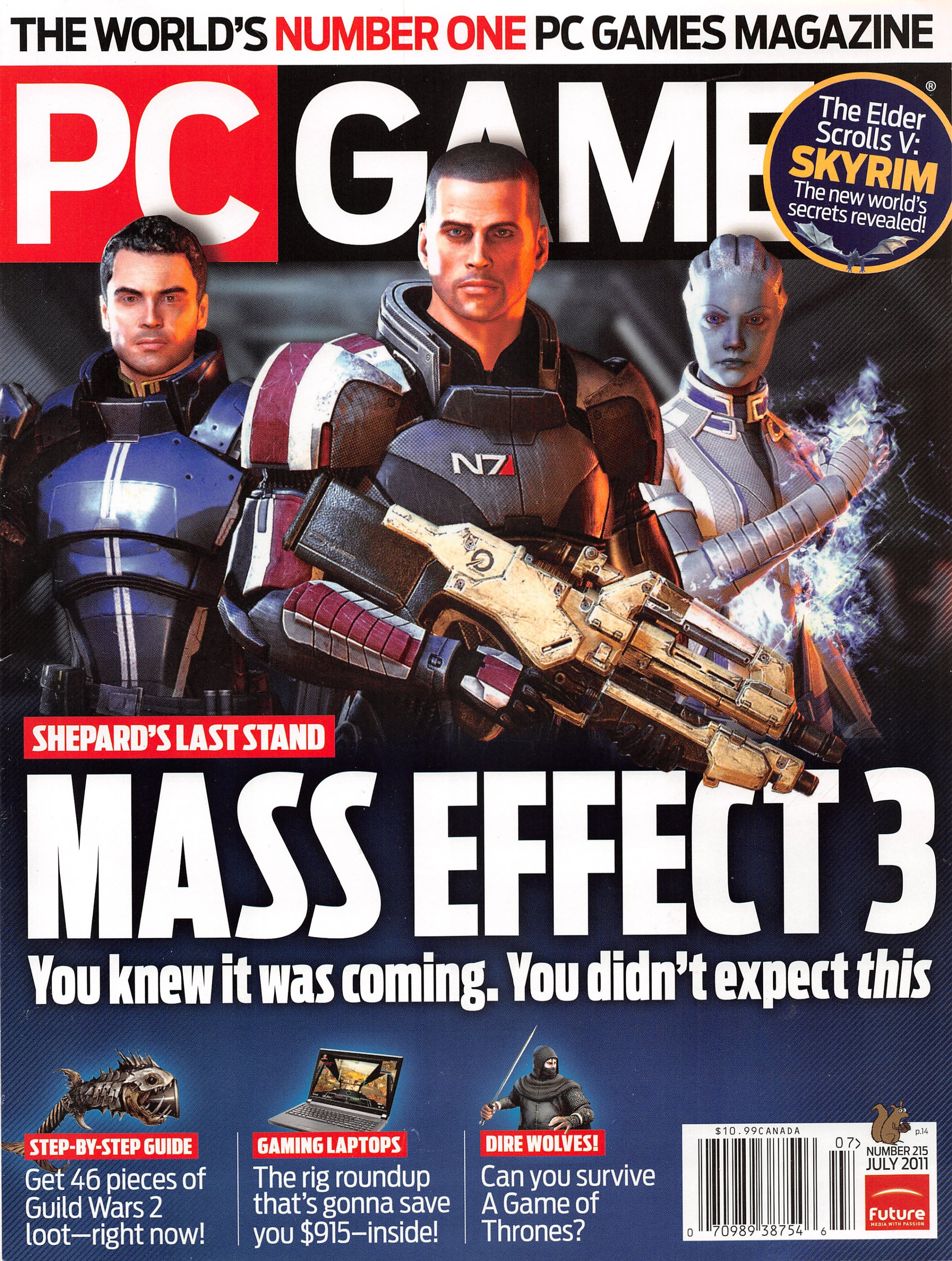 PC Gamer Issue 215 (July 2011)