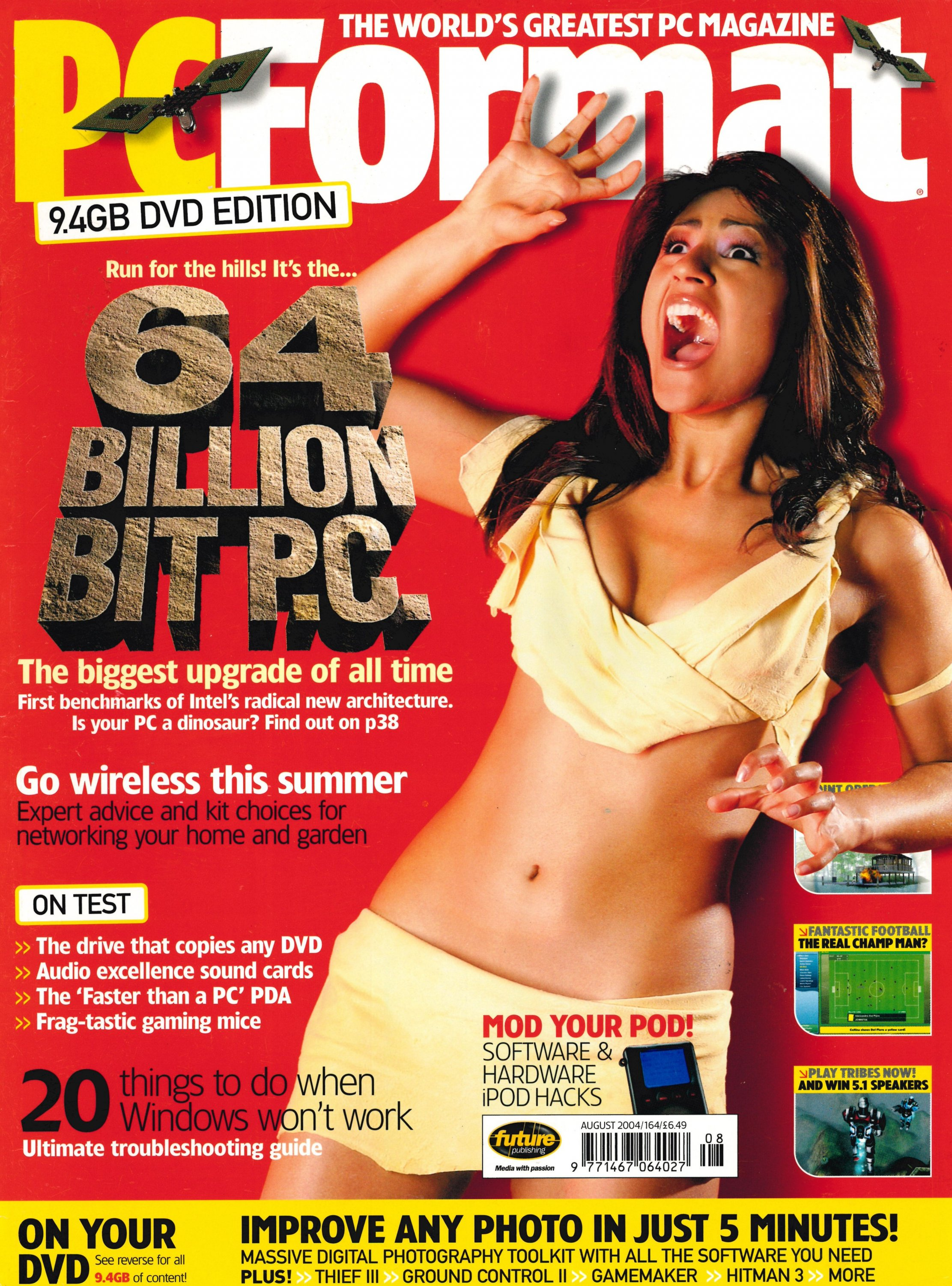 PC Format Issue 164 (August 2004)