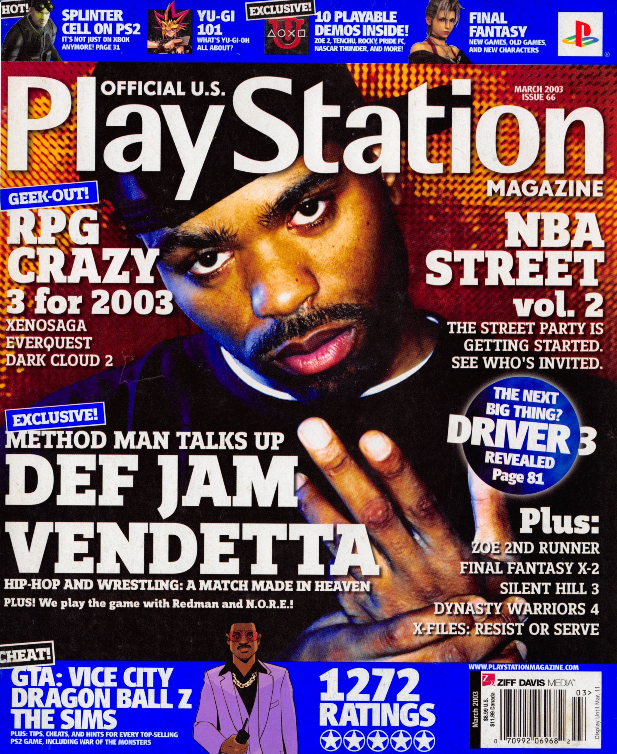 Official U.S. Playstation Magazine Issue 066 (March 2003)