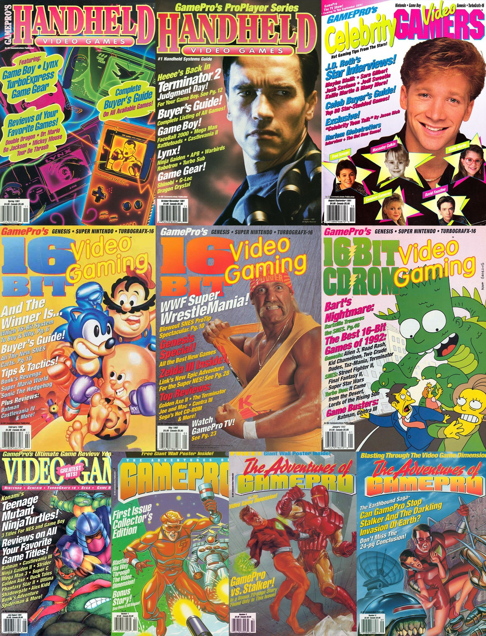 GamePro Issue 081-090 fill-in cover