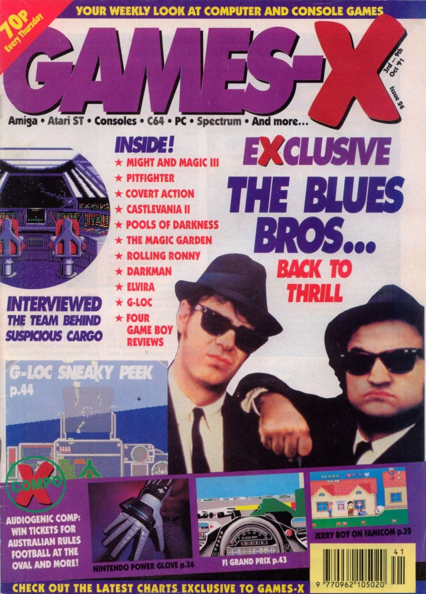 Games-X Issue 24 (October 3, 1991)