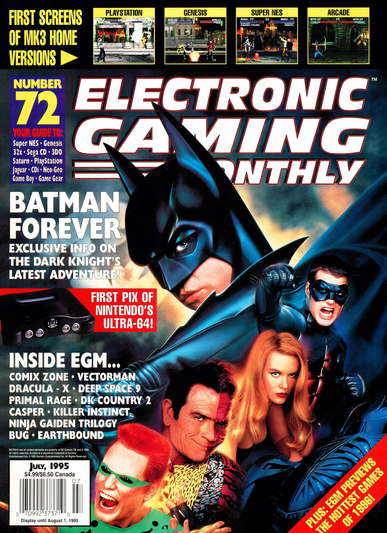 Electronic Gaming Monthly Issue 72 (July 1995)