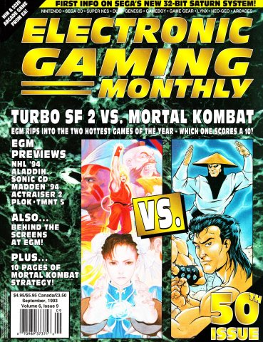 Electronic Gaming Monthly Issue 50 (September 1993)