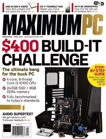 Maximum PC Volume 26 No 04 (April 2021)