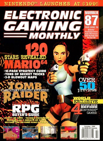Electronic Gaming Monthly Issue 087 (October 1996)