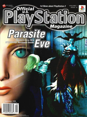 Official U.S. PlayStation Magazine Issue 012 (September 1998)