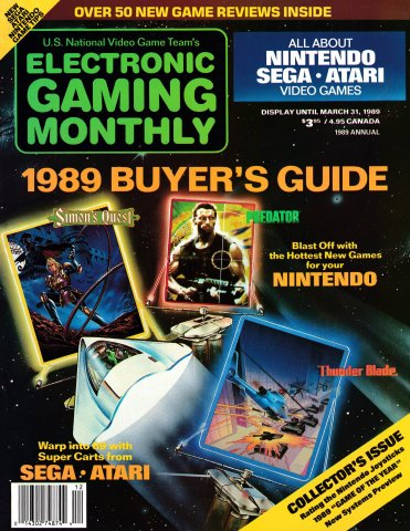 1989 Buyer's Guide (Issue 000 February 1989)