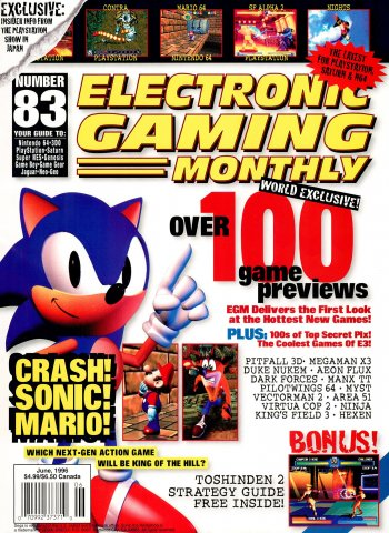 Electronic Gaming Monthly Issue 083 (June 1996)