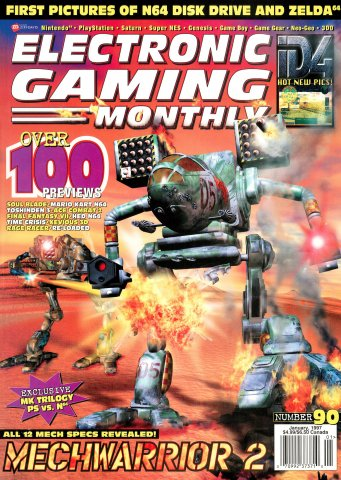 Electronic Gaming Monthly Issue 090 (January 1997)