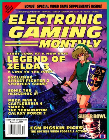 Electronic Gaming Monthly Issue 029 (December 1991)