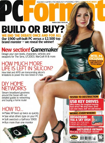 PC Format Issue 159 (March 2004)