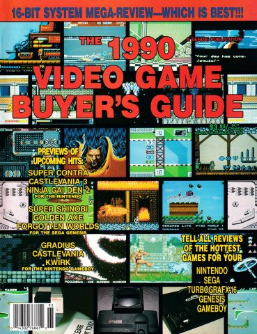1990 Video Game Buyer's Guide