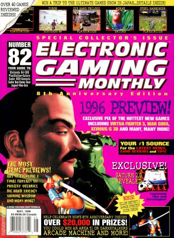Electronic Gaming Monthly Issue 082 (May 1996)