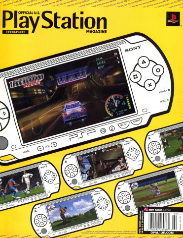 Official U.S. Playstation Magazine Issue 089 (February 2005)