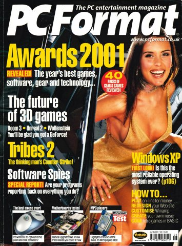 PC Format Issue 123 (June 2001)