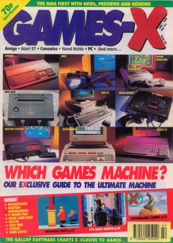 Games-X Issue 25 (October 10, 1991)