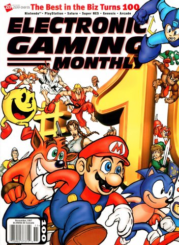 Electronic Gaming Monthly Issue 100 (November 1997)